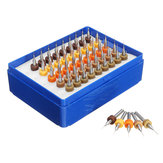 Drillpro 50 pcs 0.25-0.45mm Carboneto de Tungstênio Micro PCB Broca Bit Set para Placa de Circuito PCB
