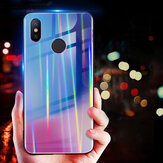 Bakeey Laser Gradient Bling Tempered Glass Shockproof Protective Case For Xiaomi Mi8 Mi8 6.21 inch
