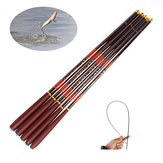 ZANLURE High Carbon Fiber 3.6-7.2M Ultra Hard Telescopic Fishing Rod Reel Combo Sea Fishing