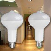 E27 b22 12w pir di induzione del corpo a infrarossi di rilevamento sensore di luce LED lampadina corridoio