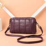 Crossbody vintage donna in pelle Soft Borsa
