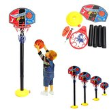 Tragbare Kinder Kinder Einstellbare Basketball Indoor Outdoor Spielnetz Hoop Set 115cm