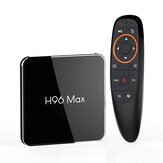 H96 MAX X2 Amlogic S905X2 4 GB RAM 64GB ROM 5G WIFI USB 3.0 4K Android 8.1 Controllo vocale TV Scatola