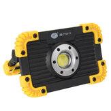 COB ricaricabile LED Luce per lavori di inondazione impermeabile per esterni campeggio Escursionismo auto di emergenza che ripara il cantiere