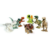 8pcs Divers Dinosaur World Building Blocks Minifigure Toys