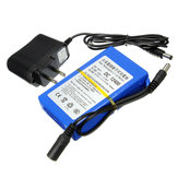11.1V 4000mAh Rechargeable Portable Lithium-ion Battery Pack with AC/DC Charger