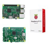 Raspberry Pi 3 Modelo B ARM Cortex-A53 CPU 12 GHz 64-Bit Quad-Core 1 GB de RAM 10 vezes B +