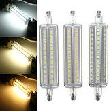 R7S Nicht dimmbare 118mm LED Glühlampe 10W 72 SMD 2835 Flut-Licht-Mais-Schlauch-Lampe Wechselstrom 85-265V
