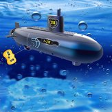RC Mini Submarine 6 Channels Remote Control Under Water Ship Model Kids Toy