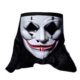 Halloween Skull Vampire V Clown Maschera Bar Dance Orrore Scary Soul Hip-hop Maschio Adulto