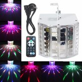 18W LED RGB Sound Active DMX512 Strobe Effekt Bühnenlicht DJ Disco Bar Party