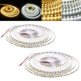 5M 72W SMD2835 5MM Untra Thin Pure White Warm White Non-waterproof Flexible LED Strip Light DC12V