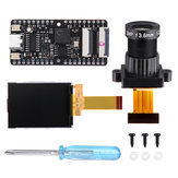 Sipeed Maix-BIT RISC-V Dual النواة 64bit معالج Development Board Mini الكمبيوتر + Lens Large + عرض شاشة Kit