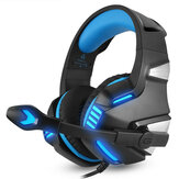 Hunterspider V3 3.5mm Com Fio LED Gaming Headphone Com Cancelamento de Ruído Com Microfone Para Laptop PS4 Xbox One