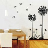 Dandelion Wall Sticker Living Room Home Decoration Car Decor Creative Decal DIY Mural Wall Art