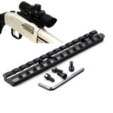 KALOAD D0020 Weaver Picatinny Rail 20mm jacht scope mount voor Shortgun 13 slots Mossberg 500 590 835 T01 C
