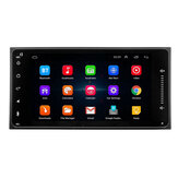 7 Inch Android 8 2DIN Coche Estéreo Cuatro Nucleos Touch Radio WIFI GPS Nav Video MP5 Player para Toyota