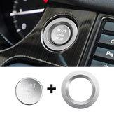 Auto Start-knop Carbon Motor Schakelaar Cover Interieur Molding voor Land Rover Discovery Sport 2015-2018
