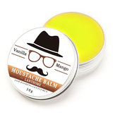 Natural Oil Styling Moustache Wax Balm Beeswax Moisturizing Smoothing Beard