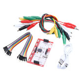 Clip per coccodrillo Jumper Kit scheda controller standard per Makey Makey Science Toy