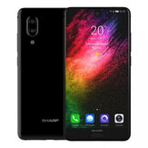 SHARP AQUOS S2 (C10) Global Version 5,5 polegadas FHD + NFC Android 8.0 4 GB RAM 64GB ROM Snapdragon 630 Octa Núcleo 2.2GHz 4G Smartphone
