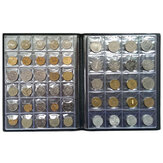 250 Coin Holder Collection Storage Collecting Money Penny Kieszenie Album Book Decor Prezenty