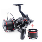 Bobing Coonor NFR9000 12 + 1BB 4.6: 1 Dubbele lossen Spinning Fishing Reel All Metal Saltwater Wheel