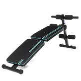 XMUND Double Folding Ab Sit-ups Abdominal Muscle Trainer Board Exercise Tools Adjustable Home Gym Fitness Equipment