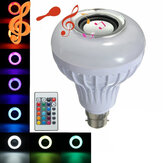 12W B22 LED RGB bluetooth Speaker Bulb Wireless Music Playing Light Lamp with Remote Controller