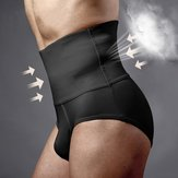 Body Sculpting Hips Lifting Aptitud Cintura alta ropa interior Shapewear Abdomen Shorts para los hombres