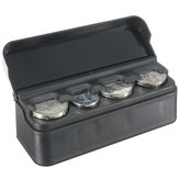 Car Interior Plastic Coin Case Opslag Opgeslagen Box Holder Container Organizer