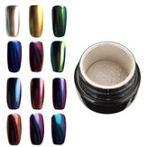10 Colors to Choose Magic Mirror Chrome Effect Metallic Powder Additive Pigment Nail Art