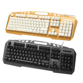 JK890 Colorful Backlight Alloy Panel USB Wired Gaming Keyboard 2400DPI LED Gaming Mouse Combo