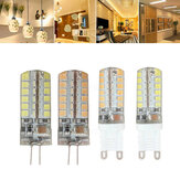 G9 G4 7W 48 SMD 2835 LED Warm Wit Wit Corn Light Bulb AC 220V