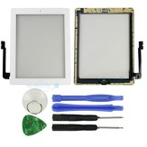 LCD Display Touch Screen With Home Button & Repair Tools For iPad 4