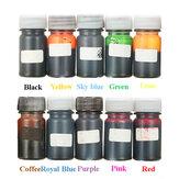 10 ألوان الايبوكسي أوف الراتنج صبغ كولورانت الراتنج السائل الصباغ ميكس اللون دي الفن الحرف