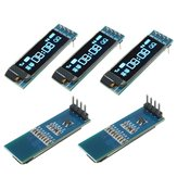 5Pcs Geekcreit 0.91 Inch 128x32 IIC I2C Blue OLED LCD Display DIY Oled Module SSD1306 Driver IC DC 3.3V 5V For  PIC