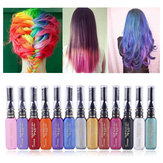 13 Colors DIY One-Time Hair Mascara Dyes Temporary Non-Toxic