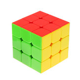 Classic Magic Cube Jouets 3x3x3 Sticker en PVC Block Puzzle Speed ​​Cube Couleur du sucre
