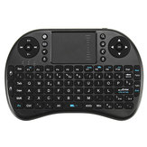 Ipazzport I8 2.4G Wireless Italian Version Rechargeable Mini Keyboard Touchpad Airmouse