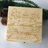 Christmas Ornament Wooden Gift Scatola Giocattoli