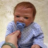 Realista 20 '' Reborn Baby Handmade Soft vinilo muñeco recién nacido acompaña los juguetes del bebé