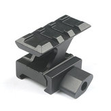 KALOAD Z-Shaped Tactical Quick Release Scope Rail Mount Holder Riser 20mm Weaver Picatinny Rail