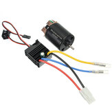 540 Motor 60A ESC Carbon Brushed Shaft 3.175mm For 1/10 RC Car