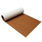 240cm x 90cm x 5mm EVA Foam Teak Sheet Boat Yacht Synthetic Teak Decking With Glue