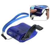 Bakeey Travel USB Hand Dynamo Charger with Light Dynamo Emergency for Mobile Phone