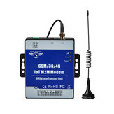 D223 M2M Modem GSM 3G DTU Support Programmable SMS Data Transfer with TTL RS485 Port Access Control