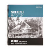 Deli 7698 Professional Art Painting Paper A4 Sketch Paper Sketchbook 40 Pages / Book