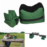 Hunting Portable Shooting Rear Gun Rest Bag Set Front & Rear Target