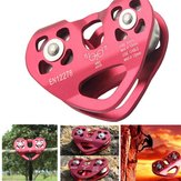 Outdoor Rock Sprzęt do wspinaczki lodowej Accessary Rescue Cable Trolley Speed Alloy Speed Alloy